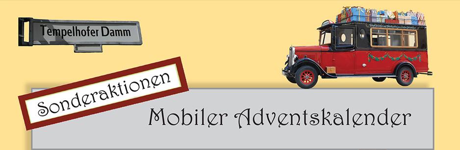 15. Dezember: Plätzchen-Sonderaktion des Mobilen Adventskalenders