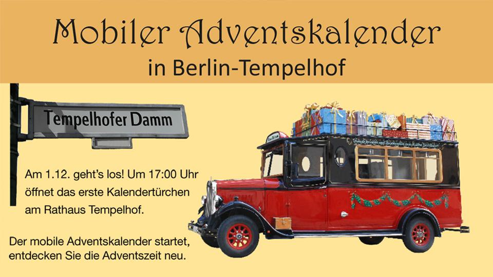 Ab 1. Dezember: Mobiler Adventskalender 2018 der Freien Evangelischen Gemeinde Berlin-Tempelhof