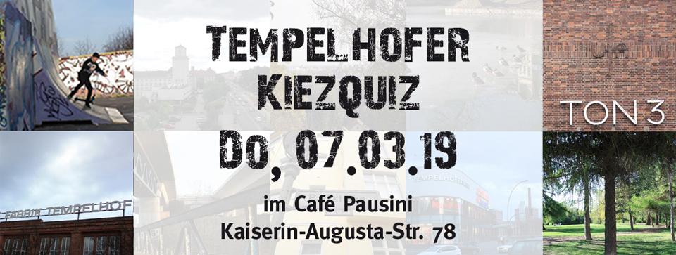 7. März 2019: Kiezquiz im Café Pausini