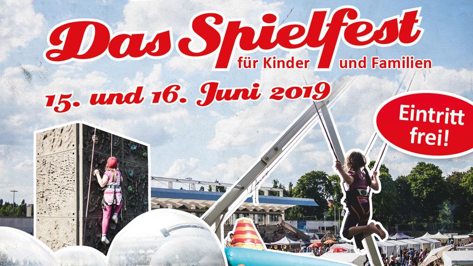 Wir unterstützen das Spielfest in Mariendorf