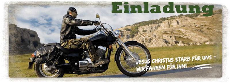 Biker-Gottesdienst und Ausfahrt der CMA Germany in Tempelhof am 22.9.2019